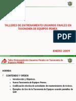 Gas Manual Taxonomia de Equipos Taller