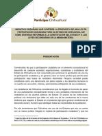 Ley de Participacion Ciudadana Version Final