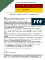 Aire Decreto 3395 Año Prov Bs Aires