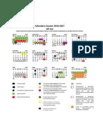 Calendario Escolar 185 Días Guanajuato