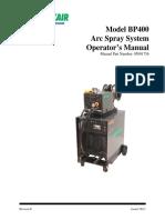 Model BP400 Arc Spray System Rev H