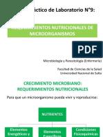 Requerimientos Nutricionales - Enfermería 201