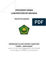 Program Kerja Lab. Bahasa