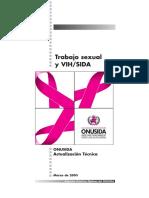 Onusida Trabajo Sexual y Vih Sida