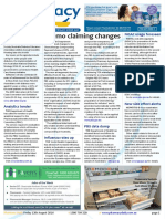 Pharmacy Daily for Fri 12 Aug 2016 - Chemo claiming changes, new interactions tool, PBS data dump, diabetes, side effects and more