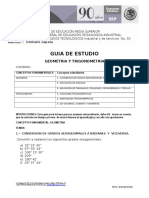 Guia Examen Geometria y Trigonometria