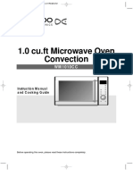 Manual 1.0 Cu.ft Microwave Oven Convection-WM1010CC