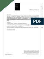 Estudios Sobre Paramilitarismo en Colombia