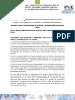 Retos y Nuevas Funciones Del Director(a) o Del Supervisor(a) en Educación Básica MEPP