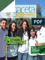 Gaceta edición especial agosto 2016