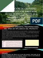 Diapositivas de Criterios de Proteccion Ambiental