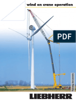 Liebherr Influence of Wind Beaufort Table