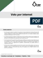 Voto por internet Seguridad
