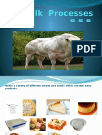 Milk Processes REPORT!