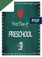 School Print Preschool