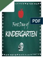 School Print Kindergarten