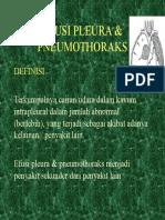 Askep Efusi Pleura & Pneumothoraks