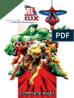 Heroclix Marvel - 1 Infinity Challenge Rulebook