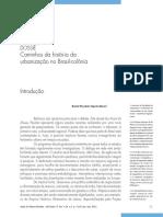 Caminhos Da História Da Urbanização No Brasil