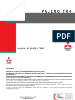 ManualPajero Tr4 2012