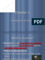 Chapter 1 - Introduction of Science