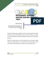 Integrasi Zoning Map Ke Dalam Zoning Text