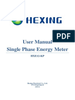 10.1 User Manual of Single HXE12-KP