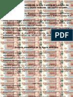 Análisis de La Ley Contra El Lavado
