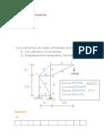 ejercicio de analisis estructural