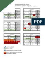 Calendario TEC