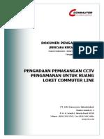 RKS Pengadaan CCTV Pengamanan untuk ruang loket Commuter Line.pdf