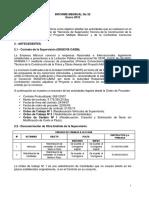 MISICUNI Informe de Obra Enero 2012
