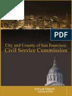 2013-2014 CSC Annual Report SFDSA Sideletter Agreement