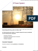 The Structure of Power System 1