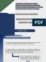 Avaluo Activos Industriales (Principios de Valoracion)