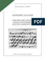 Vivaldi concerto RV 96 in D Minor