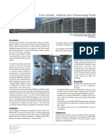 Case Study - Natural Gas Sweetening Plant