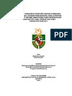 Analisis Pengaruh Proporsi Dewan Komisaris Independen, Ukuran Perusahan, Dan Leverage Thdp Income Smooting