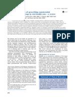 Articulo 2. AINEs y Sus Implicancias en Salud Oral Oral Surgery Oral Medicine Oral Pathology 2015