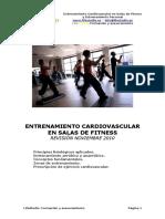 Entrenamiento Cardiovascular en Salas de Fitness