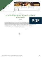 El Virus Del Papiloma Humano