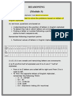 reasoning module-3