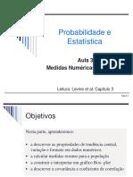 Aula 3 - Medidas Numericas Descritivas 2014_1