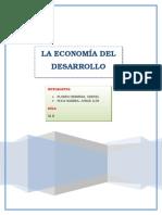 La Economía Del Desarrollo Sostenible