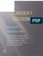 TECNOLOGIA Y EDUCACION TAREA N° 05