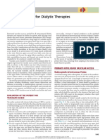 Cap 91 Vascular Access for Dialytic Therapies
