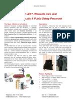 MC-VEST Data Sheet 131031 (Mobilicom)