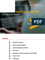 2014-Sap-julian Dontcheff-exadata and Supercluster for Sap-praesentation