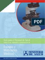Guia Mantenimiento Mobiliario y Equip Medico