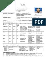 BioDATA of O.P.pandey (5)